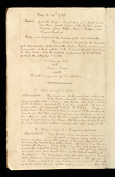 Fair Minutes Of The Committee For The Abolition Of The Slave Trade f. 2v